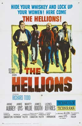 The Hellions - 27 x 40 Movie Poster - Style A