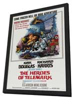 The Heroes of Telemark - 11 x 17 Movie Poster - Style D - in Deluxe Wood Frame