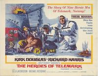 The Heroes of Telemark - 11 x 14 Movie Poster - Style B