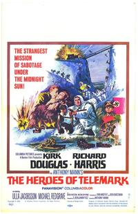 The Heroes of Telemark - 11 x 17 Movie Poster - Style B