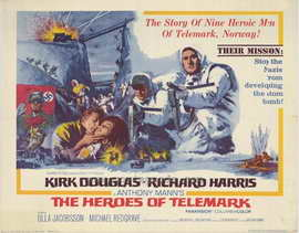 The Heroes of Telemark - 22 x 28 Movie Poster - Half Sheet Style A