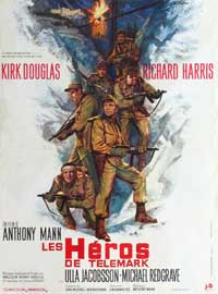 The Heroes of Telemark - 27 x 40 Movie Poster - Style B