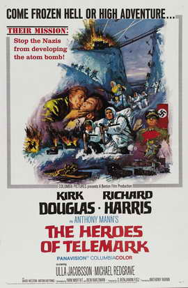 The Heroes of Telemark - 11 x 17 Movie Poster - Style D