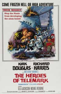 The Heroes of Telemark - 27 x 40 Movie Poster - Style C