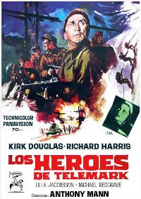 The Heroes of Telemark - 27 x 40 Movie Poster - Spanish Style A