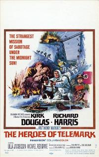 The Heroes of Telemark - 27 x 40 Movie Poster - Style D