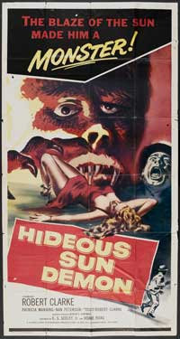 The Hideous Sun Demon - 20 x 40 Movie Poster - Style A