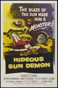 The Hideous Sun Demon - 11 x 17 Movie Poster - Style A