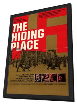 The Hiding Place - 11 x 17 Movie Poster - Style A - in Deluxe Wood Frame