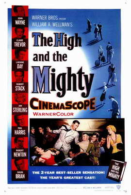 The High and the Mighty - 27 x 40 Movie Poster - Style A