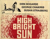 The High Bright Sun - 11 x 14 Movie Poster - Style A