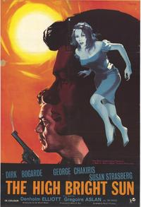 The High Bright Sun - 27 x 40 Movie Poster - Style A