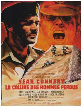 The Hill - 11 x 17 Movie Poster - French Style A