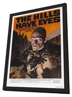 The Hills Have Eyes - 11 x 17 Movie Poster - Style D - in Deluxe Wood Frame