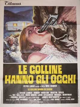 The Hills Have Eyes - 11 x 17 Movie Poster - Italian Style A