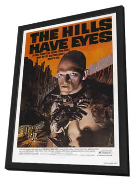 The Hills Have Eyes - 27 x 40 Movie Poster - Style D - in Deluxe Wood Frame