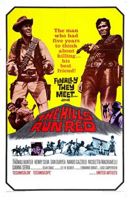 The Hills Run Red - 27 x 40 Movie Poster - Style B