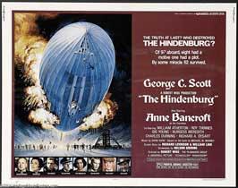 The Hindenburg - 22 x 28 Movie Poster - Half Sheet Style B