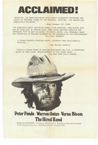 Hired Hand - 27 x 40 Movie Poster - Style B