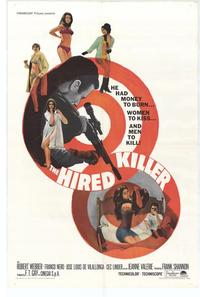 Hired Killer - 11 x 17 Movie Poster - Style A