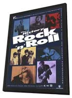 The History of Rock N Roll - 11 x 17 Movie Poster - Style A - in Deluxe Wood Frame