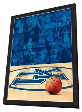 The History of University of Kentucky Basketball - 11 x 17 Movie Poster - Style A - in Deluxe Wood Frame