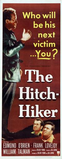 The Hitch-Hiker - 14 x 36 Movie Poster - Insert Style A