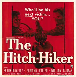 The Hitch-Hiker - 30 x 30 Movie Poster - Style A