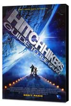 The Hitchhiker's Guide to the Galaxy - 11 x 17 Movie Poster - Style A - Museum Wrapped Canvas