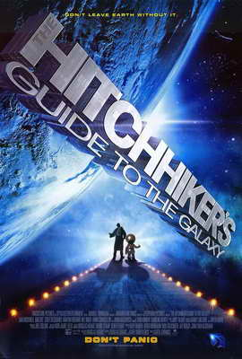 The Hitchhiker's Guide to the Galaxy - 11 x 17 Movie Poster - Style A