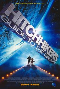 The Hitchhiker's Guide to the Galaxy - 27 x 40 Movie Poster