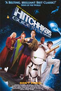 The Hitchhiker's Guide to the Galaxy - 27 x 40 Movie Poster - Style B