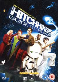 The Hitchhiker's Guide to the Galaxy - 30 x 40 Movie Poster UK - Style A
