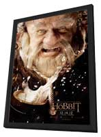 The Hobbit: An Unexpected Journey - 11 x 17 Movie Poster - Style G - in Deluxe Wood Frame