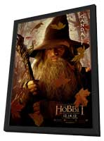The Hobbit: An Unexpected Journey - 11 x 17 Movie Poster - Style I - in Deluxe Wood Frame