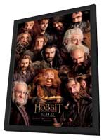 The Hobbit: An Unexpected Journey - 11 x 17 Movie Poster - Style J - in Deluxe Wood Frame