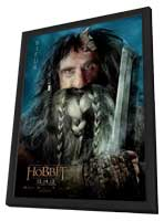 The Hobbit: An Unexpected Journey - 11 x 17 Movie Poster - Style L - in Deluxe Wood Frame