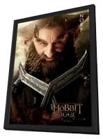 The Hobbit: An Unexpected Journey - 11 x 17 Movie Poster - Style V - in Deluxe Wood Frame