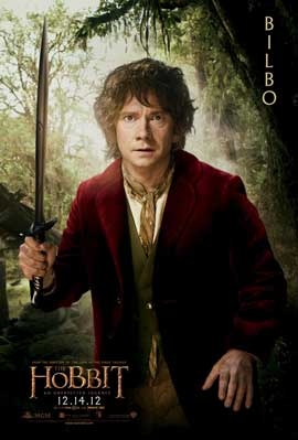 The Hobbit: An Unexpected Journey - 11 x 17 Movie Poster - Style K