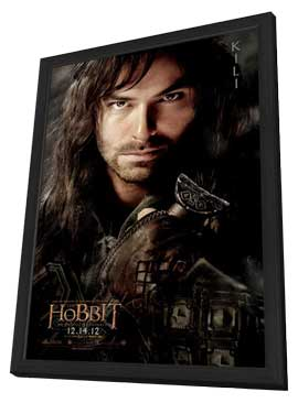 The Hobbit: An Unexpected Journey - 11 x 17 Movie Poster - Style F - in Deluxe Wood Frame
