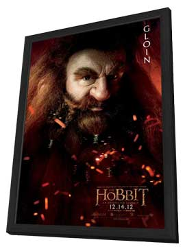 The Hobbit: An Unexpected Journey - 11 x 17 Movie Poster - Style M - in Deluxe Wood Frame