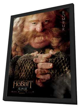 The Hobbit: An Unexpected Journey - 11 x 17 Movie Poster - Style N - in Deluxe Wood Frame