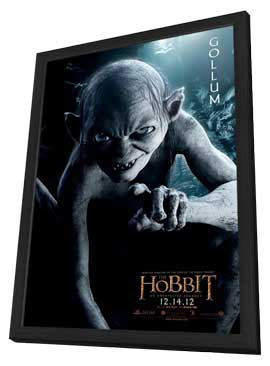 The Hobbit: An Unexpected Journey - 11 x 17 Movie Poster - Style O - in Deluxe Wood Frame