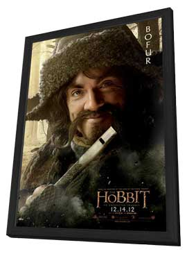 The Hobbit: An Unexpected Journey - 11 x 17 Movie Poster - Style P - in Deluxe Wood Frame