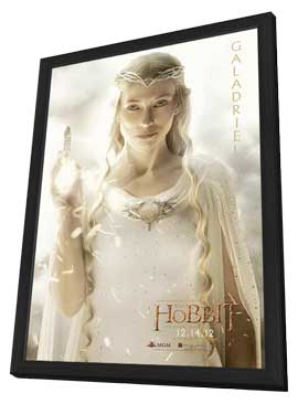 The Hobbit: An Unexpected Journey - 11 x 17 Movie Poster - Style Q - in Deluxe Wood Frame