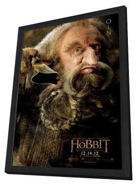 The Hobbit: An Unexpected Journey - 11 x 17 Movie Poster - Style S - in Deluxe Wood Frame