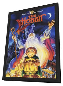 The Hobbit - 11 x 17 Movie Poster - Style A - in Deluxe Wood Frame