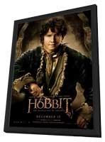 The Hobbit: The Desolation of Smaug - 11 x 17 Movie Poster - Style M - in Deluxe Wood Frame