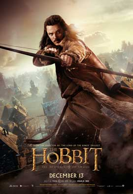 The Hobbit: The Desolation of Smaug - 27 x 40 Movie Poster - Style C