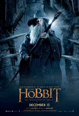 The Hobbit: The Desolation of Smaug - 27 x 40 Movie Poster - Style D